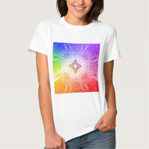 Colourful Abstract Circles: T Shirt