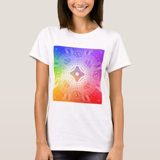 Colourful Abstract Circles: T-Shirt