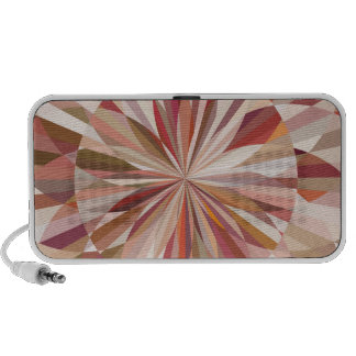 Colourful Abstract Design Doodle PC Speakers