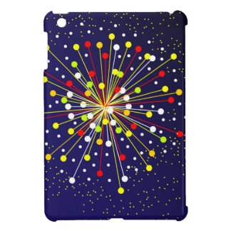 Colourful Abstract Explosion Cover For The iPad Mini