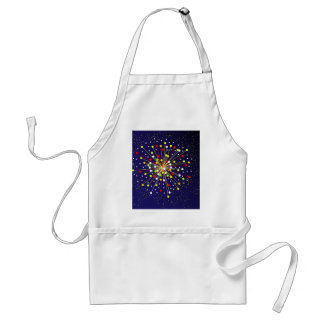Colourful Abstract Explosion Standard Apron