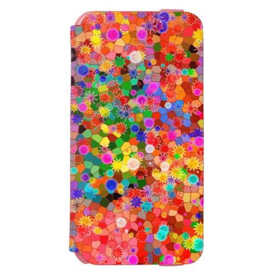 Colourful abstract Flower Case Incipio Watson™ iPhone 6