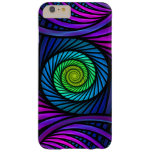 Colourful Abstract Fractal iPhone 6 Plus Cases Barely There iPhone 6 Plus Case