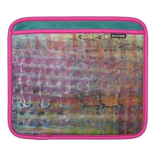 Colourful Abstract iPad Sleeve