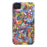 Colourful Abstract iPhone 4/4S Barely There Case