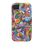 Colourful Abstract iPhone 4/4S Tough Case-Mate