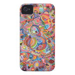 Colourful Abstract iPhone 4 Case by Case-Mate