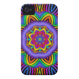 Colourful abstract / pattern iPhone 4 case