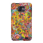 Colourful Abstract Samsung Galaxy S2 Case Funky