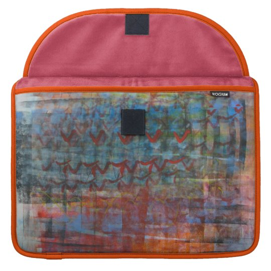 Colourful Abstract Sleeve For MacBooks
