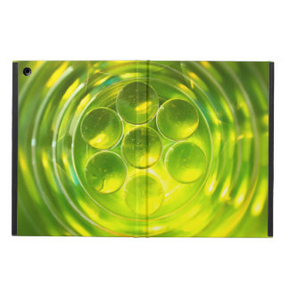 colourful abstract symmetrical geometric pattern iPad air cover