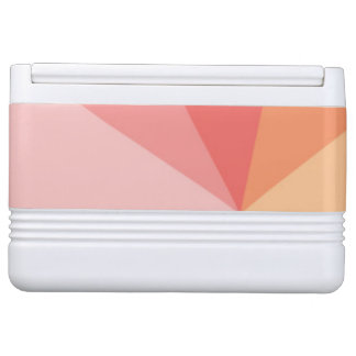 Colourful Abstract Triangle Pattern Igloo Cooler