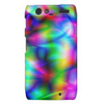 Colourful abstraction Motorola droid RAZR case