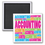 Colourful Accounting Magnet