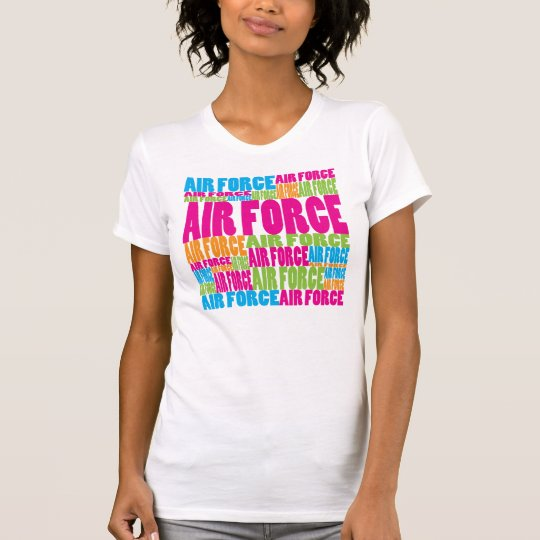 Colourful Air Force T-Shirt