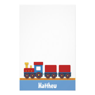 Colourful and Cute Toy Train for Boys Stationery