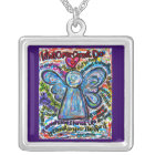 Colourful Angel Cancer Cannot Necklace Jewellery
