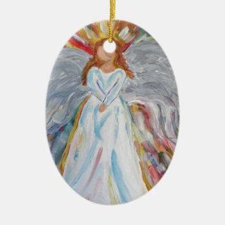 Colourful Angel Christmas Ornament
