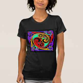 Colourful Antique Style Celtic Art Tees and GIfts
