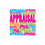 Colourful Appraisal Post Cards