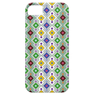 Colourful Argyle Rhombic Diamond Pattern Barely There iPhone 5 Case