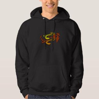 Colourful arrows hoodie
