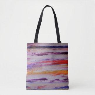 Colourful art bag