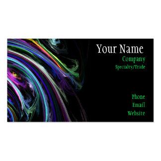 Colourful Art Business Card