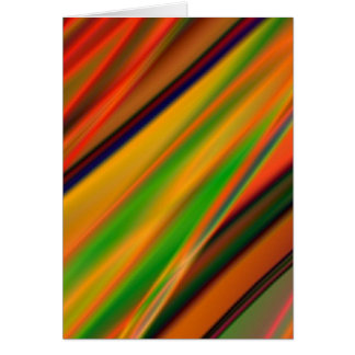 colourful art card