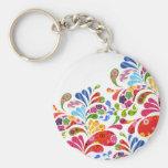 Colourful Art Keychains