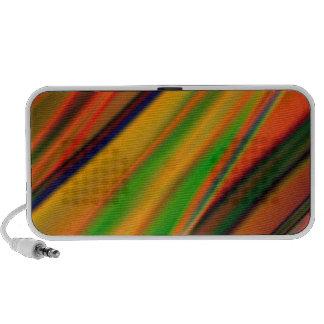 colourful art iPod speaker