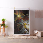 Colourful Artistic Fractal Tapestry Fabric