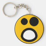 Colourful Assorted Smileys(See Description) Basic Round Button Key Ring