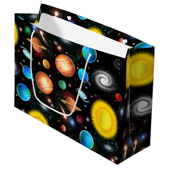 Colourful Astronomy Space Gift Bag