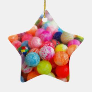 colourful balls ceramic star decoration