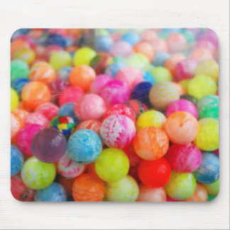 colourful balls mouse pad