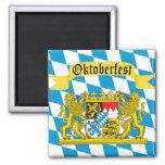 Colourful Bavarian Flag Oktoberfest