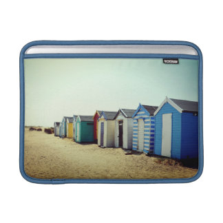 Colourful Beach Huts In The Sun MacBook Air Sleeves