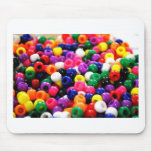 Colourful Beads Mouse Mat
