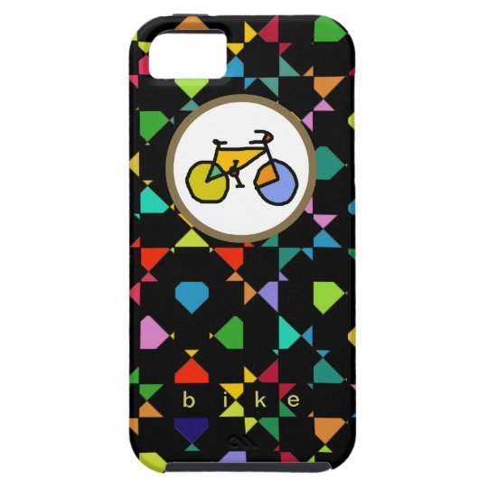 colourful bike . cycling case for the iPhone
