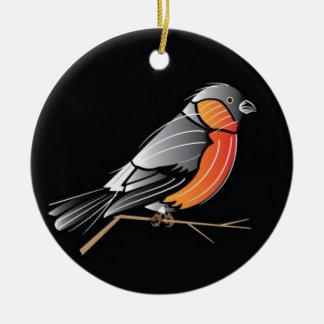 Colourful bird christmas tree ornaments