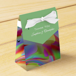 Colourful Bird Design Favour Box