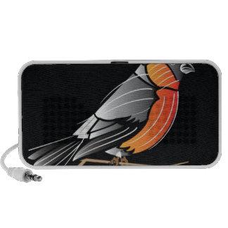 Colourful bird mp3 speaker