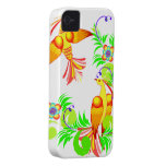 Colourful Birds and Flowers Blackberry Bold Case