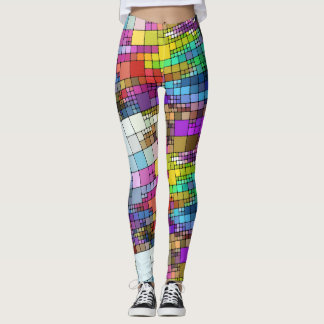 Colourful Blocks Leggings