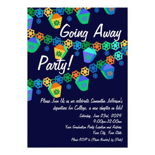 ... invitation great for a college sendoff luau or tropical theme party