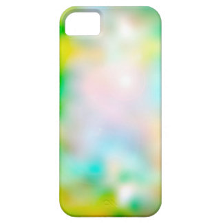 Colourful blurred flowers barely there iPhone 5 case