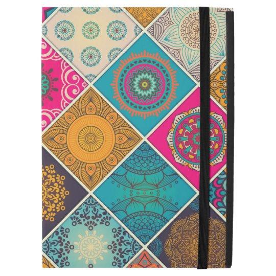 "Colourful Bohemian Mandala Patchwork iPad Pro 12.9"" Case"