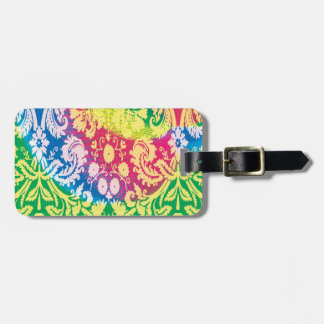 Colourful Boho in bright multicolours. Luggage Tag