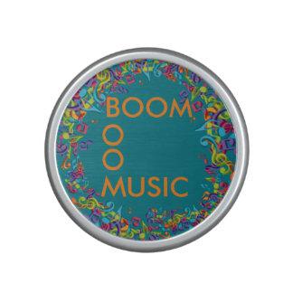 Colourful Boom Speakers. Speaker